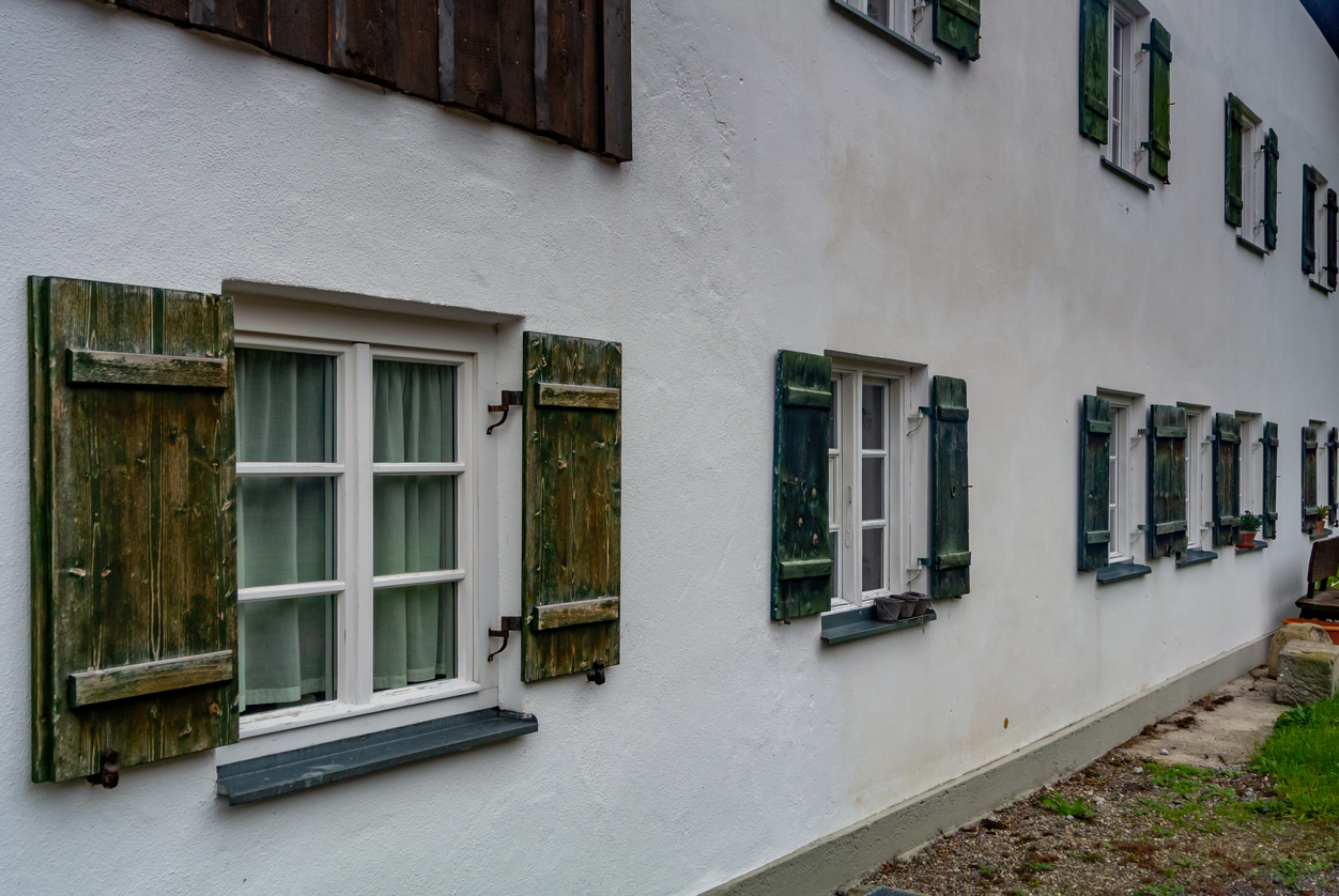 German Antique Patterned Glass