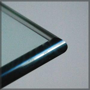 pencil edge glass edgework
